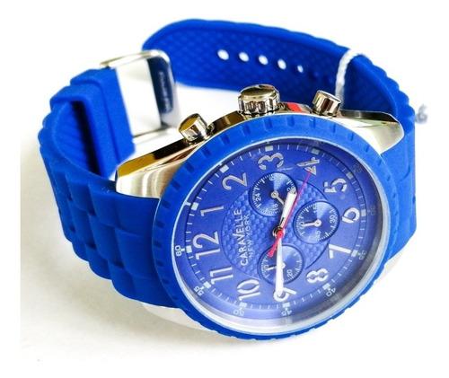 reloj caravelle hombre cronografo 43a121