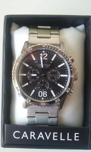 reloj caravelle new york 43a115  by bulova
