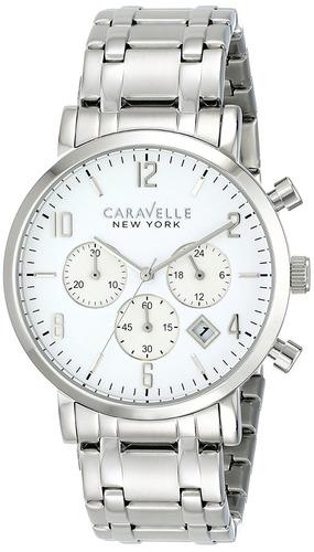 reloj caravelle new york by bulova 43b138 masculino