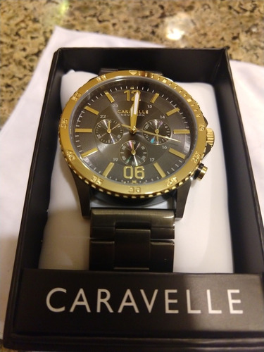 reloj caravelle new york by bulova 45a119  original inotech