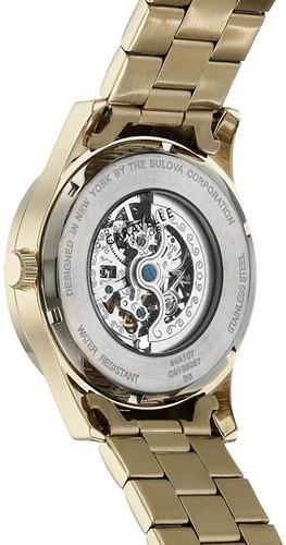 reloj caravelle new york by bulova  automatico inotech
