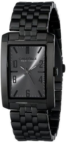 reloj caravelle new york by bulova negro