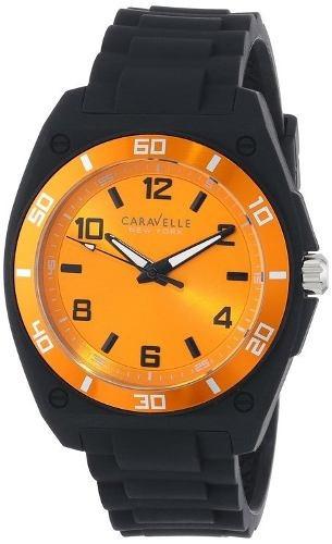 reloj caravelle wcv134 negro