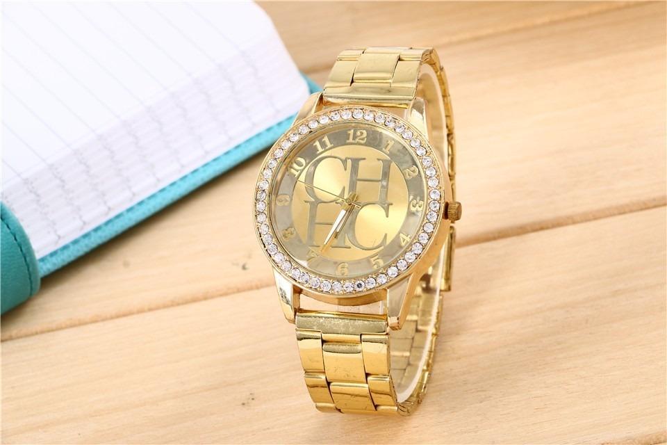 Reloj Carolina Herrera Ch Con Brillantes