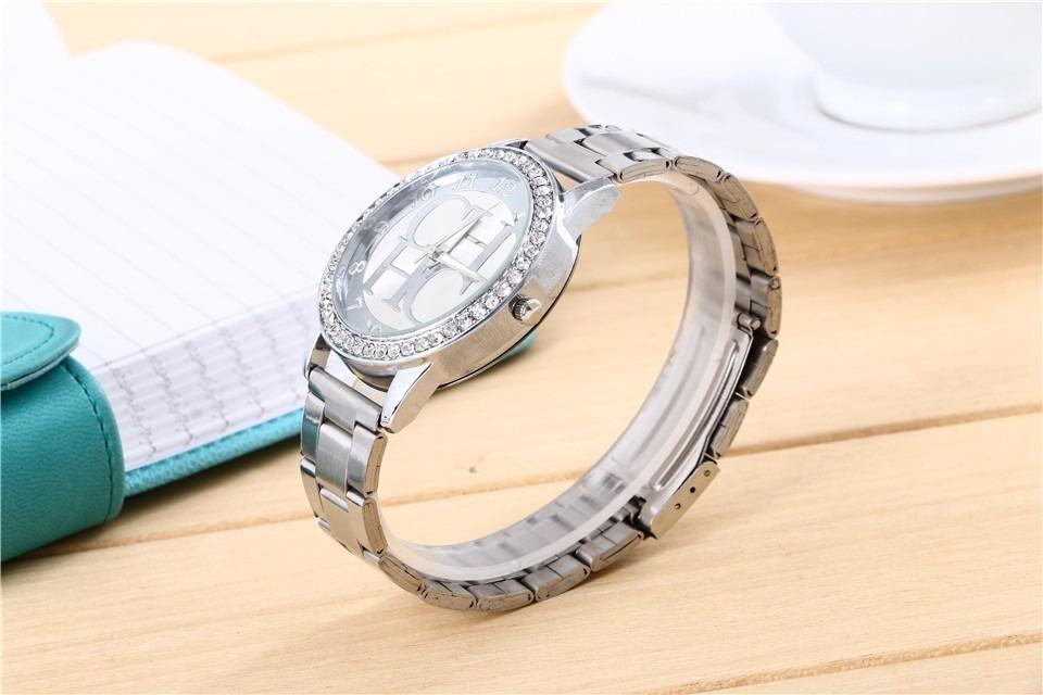 Reloj Carolina Herrera Ch Con Brillantes Moda De Lujo