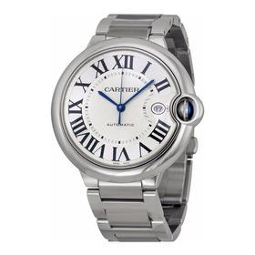 Reloj Cartier Ballon Bleu Automático Plateado W69012z4