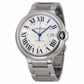 4a85ef984e07 Reloj Cartier Ballon Bleu Automático Plateado W69012z4