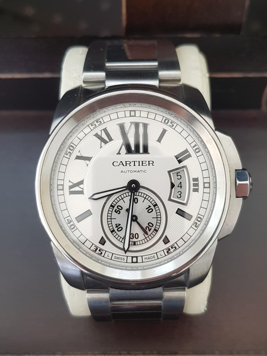 Reloj Cartier Calibre Acero