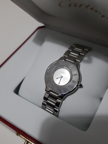 reloj cartier must siglo 21