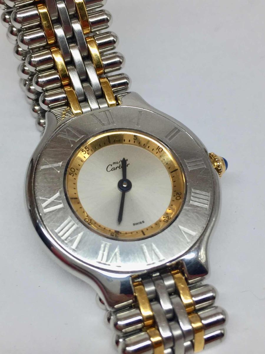 24602718a7b reloj cartier must siglo xxi original usado. Cargando zoom.