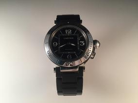 579945cb5f99 Reloj Cartier Pasha De Acero Con Caucho ,40 Mm Automático.