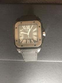 28a883cf5d85 Reloj Cartier Santos Negro - Joyas y Relojes en Mercado Libre México