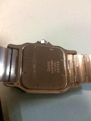 reloj cartier santos galbee 187901 acero oro 18k cuarzo
