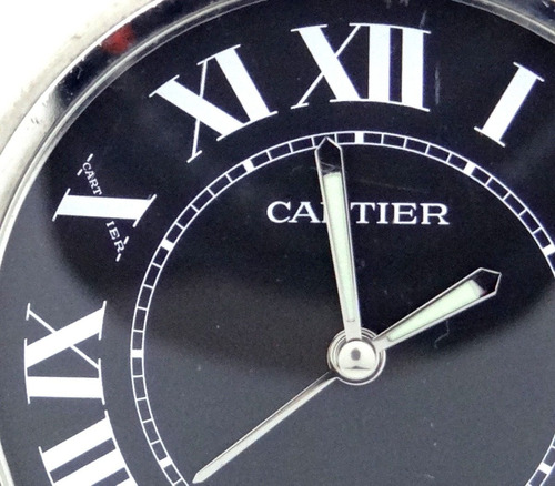 reloj cartier travel o de bolsillo original autentico $10500