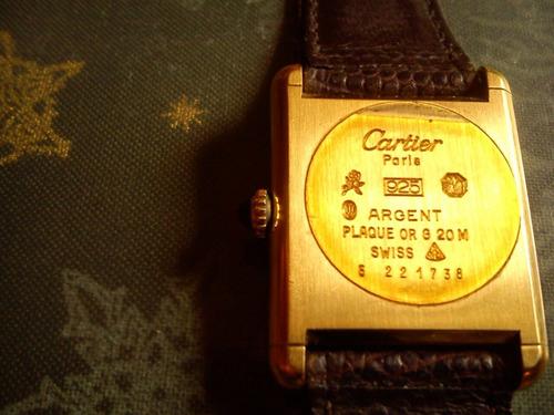 reloj cartier tres oros solo para colecionistas