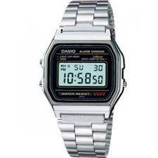 reloj casio 158-wa-1 retro clasico original