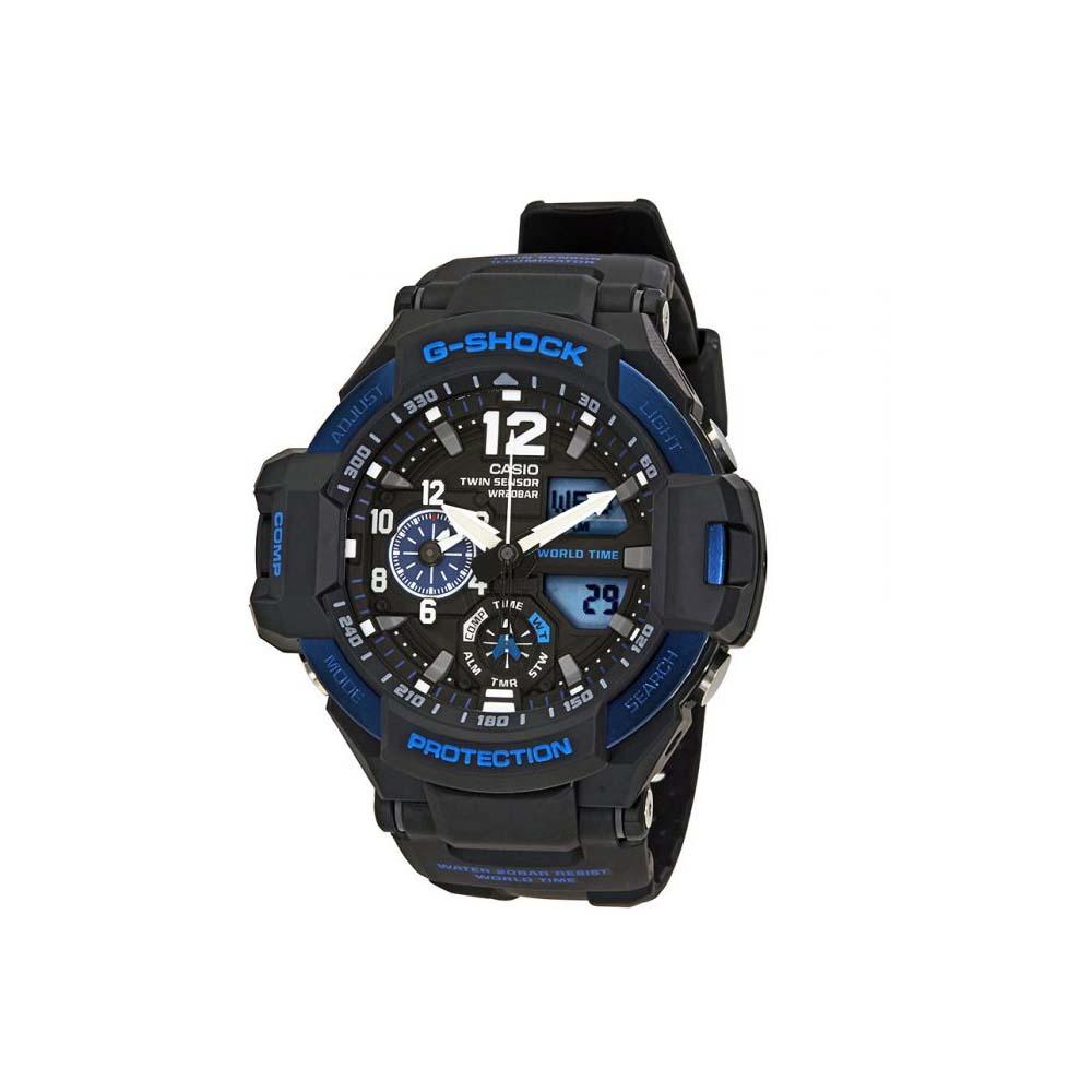 Reloj Casio 2018 Ga1100 2bcr G Shock Gravitymaster Doble S Saldo Tmr Cargando Zoom