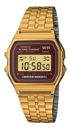 reloj casio a159wgea-5df digital dorado