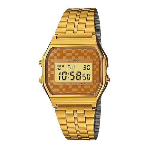 reloj casio a159wgea-9adf digital dorado