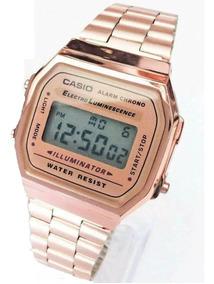 mejor amado 341e4 94567 Reloj Casio A168 Dama Clasico Rosado New Retro Envio Gratis