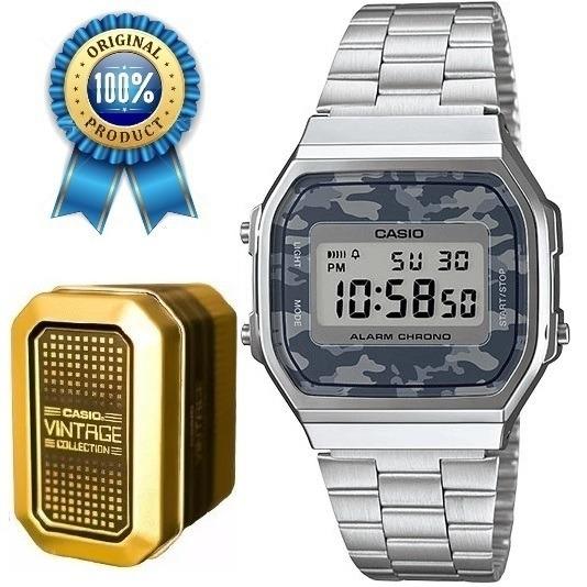 b79bfbed9e4f Reloj Casio A168 Plata Retro Vintage Envío Gratis -   799.00 en ...
