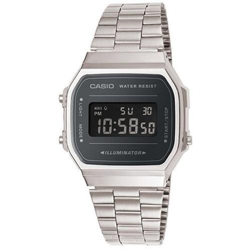 2d94560da435 Reloj Casio A168wem Retro Unisex Acero Inox Digital Wr -   4.270