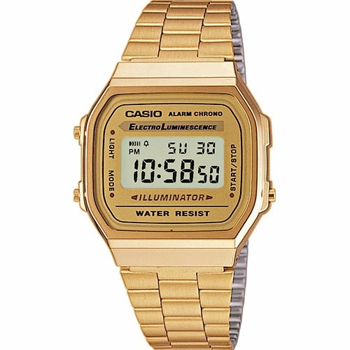 24e5e1559a5b Reloj Casio A168wg-9ef Reloj Mujer Casio Dorado Moda Retro -   149.990 en  Mercado Libre