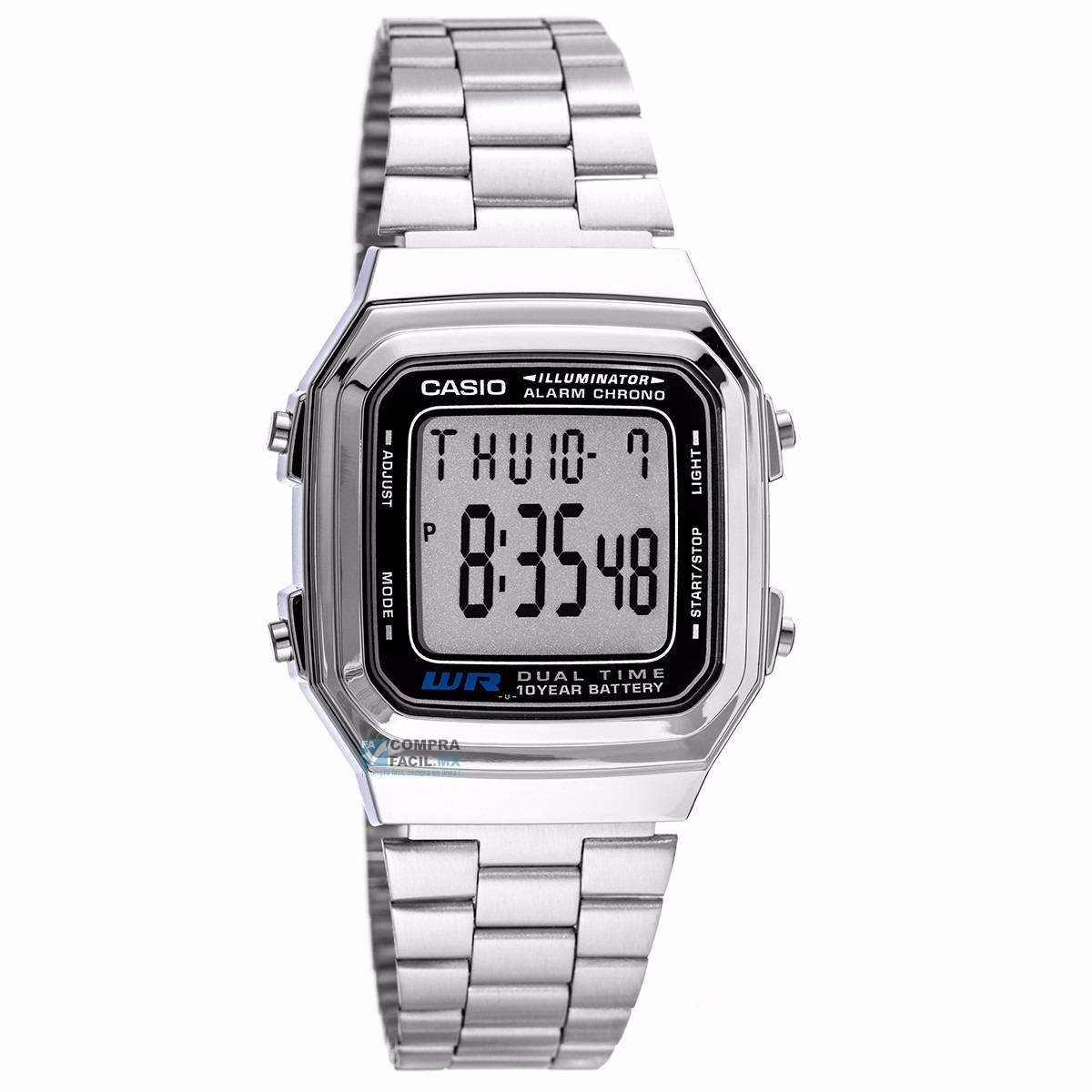 e38170d4f187 Reloj Casio A178w Acero Nuevo Y Original -   465.00 en Mercado Libre