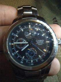 d2d62ab110ec Reloj Casio Acero Inoxidable Edifice Resistente A Agua