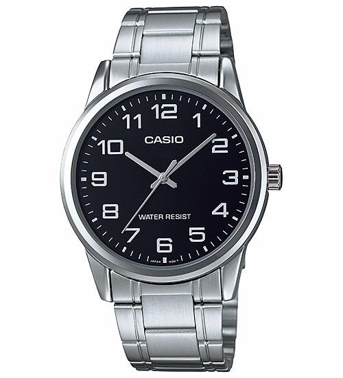 ae8088f12251 Reloj Casio Acero Mtp-v001d Numeros Grandes Agente Oficial -   769 ...