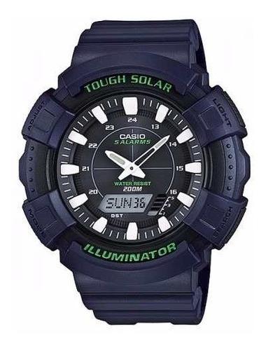 reloj casio ad-s800wh-2a para caballero pulso en resina