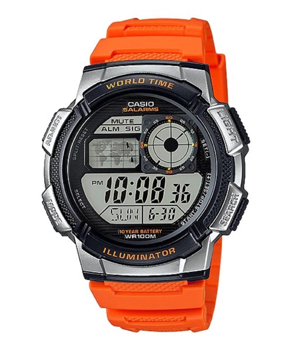 Reloj Resiste Casio Agua 1000w Original 10 Ae Años Pila 4bv rxQdCoBWEe