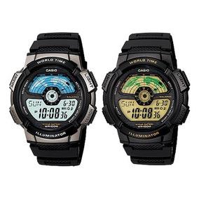 34fe46d96d62 Casio Dual Time 5 Alarm Countdown Timer Auto Light Hombres - Relojes  Hombres en Bs.As. G.B.A. Norte en Mercado Libre Argentina
