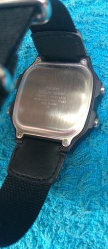 reloj casio ae-1200 con correa textil