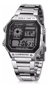Boutique en ligne 6d597 355c6 Reloj Casio Ae 1200whd Batería 10 Años Alarma 100% Original
