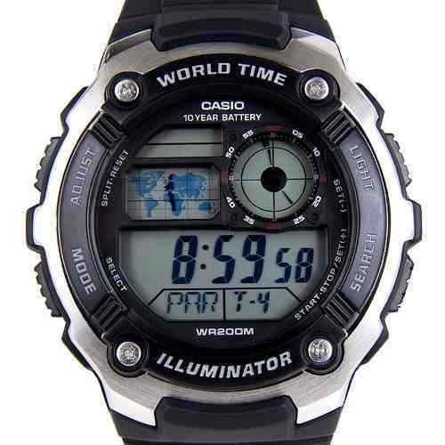Reloj Casio Ae-2100w Hombre Cronometro Sumergible 200m -   3.830 bc28e9af58a2