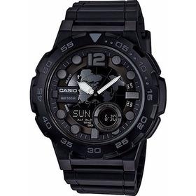 Reloj Casio Aeq-100w-1b Agente Oficial Belgrano