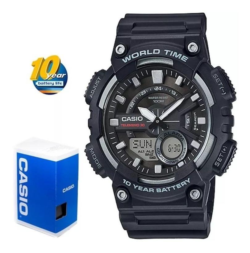 Aeq Casio Reloj 110w 1 Analogico DigitalTelememo NOwP8nkX0Z