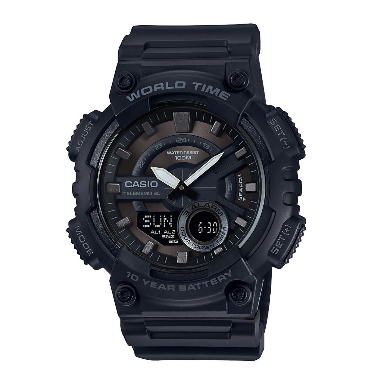 e4b19c959693 Reloj Casio Aeq-110w-1av Cronometro Alarma -   2.050