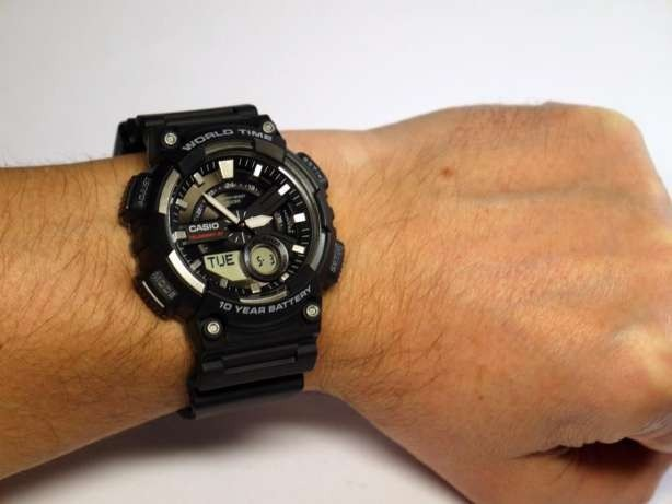 Casio 110w Reloj Negro Original Aeq 100Nuevo Y 1av XiPkOuZ
