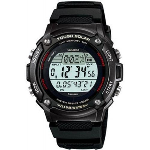 b378c54fbbd6 Reloj Casio Alarma Crono Luz Touch Solar Modelo W-s200h-1bv ...