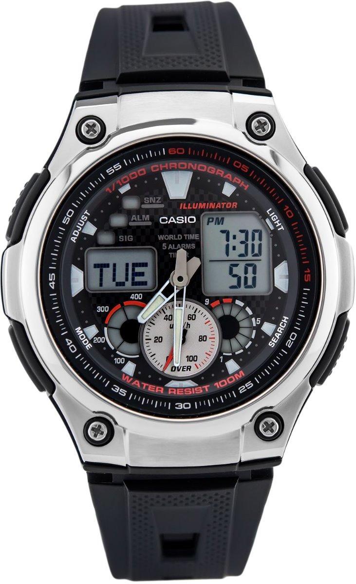 Mundial Aq Luz 1avdf Orig Anadig Reloj Hora 190w Casio Led g7fvmIYb6y
