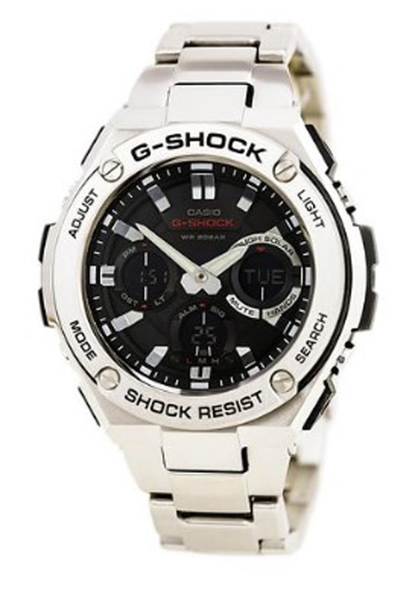 bc99b23d4301 reloj casio analógico acero inoxidable plateado p hombre. Cargando zoom.