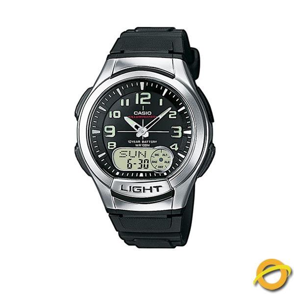 Digital 180w Agenda Reloj Aq Casio Sumergible Analogico KJF1c3Tl
