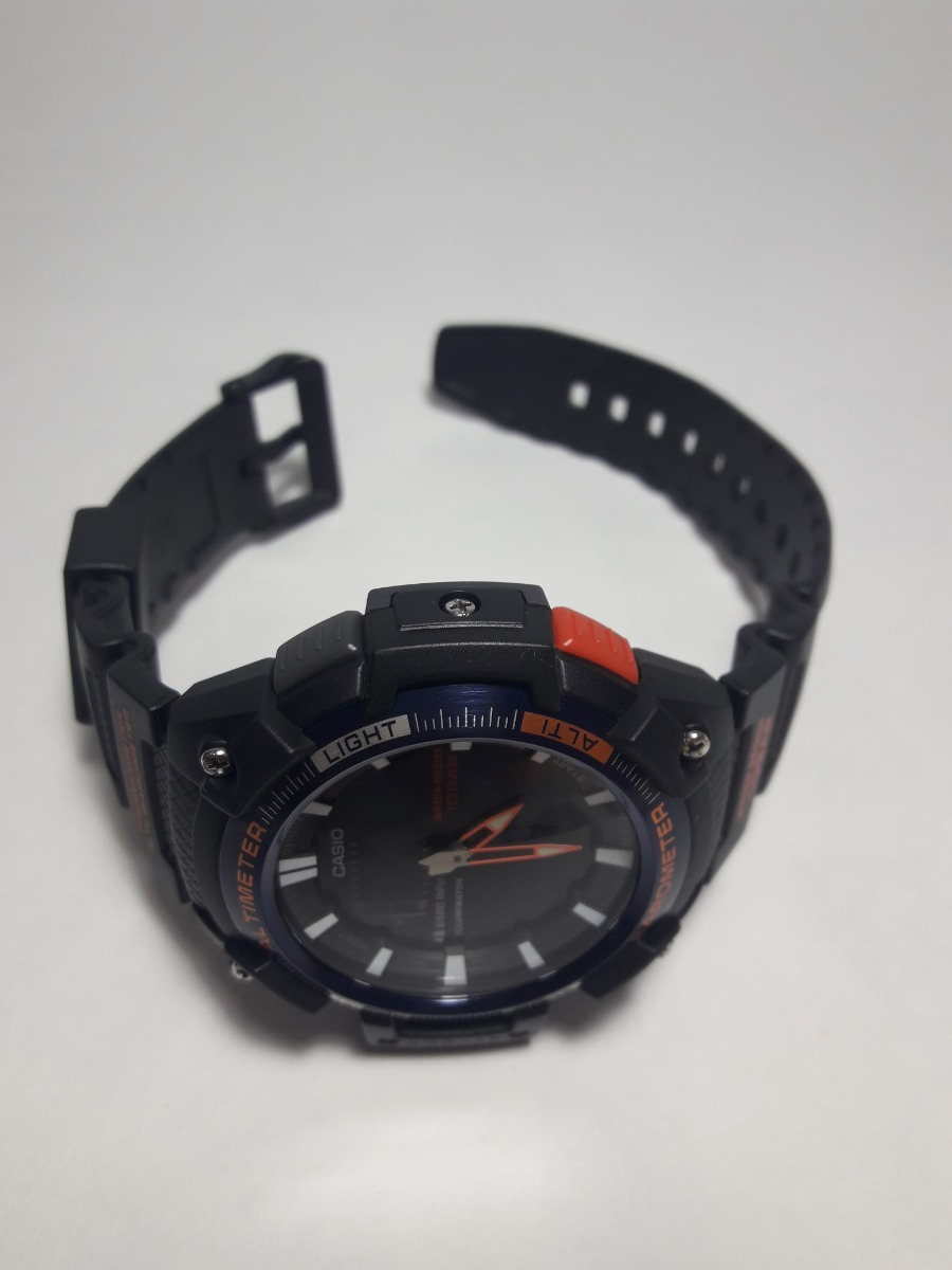 450h 2bcfTwin Casio Analogico Sgw Digital Sensor Reloj gybf67
