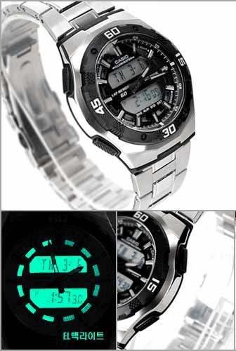 reloj casio aq-164wd-1avef
