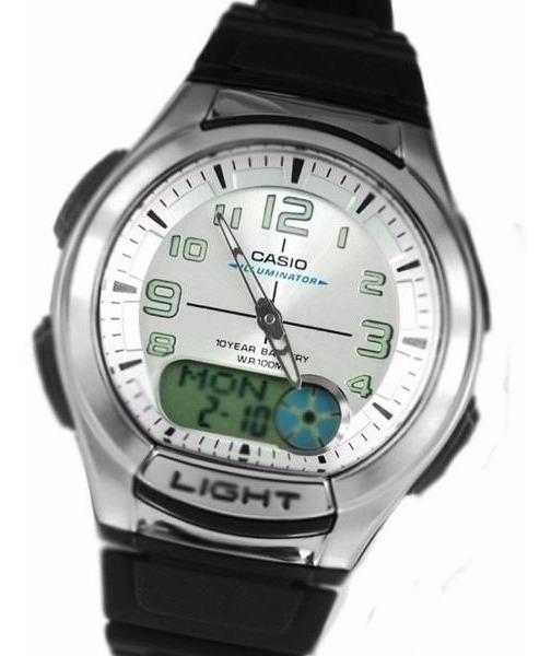Mundial 180w Crono 3 Hora Reloj Casio Alarmas Aq Telememo tshQrxdC