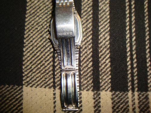 reloj casio aq-303 con display dia mes alarm