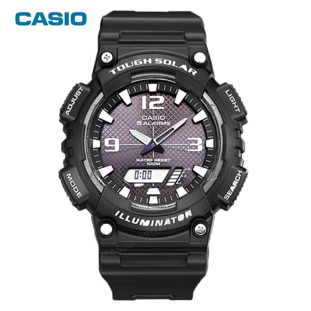 451d1a10727f Reloj Casio Aq-s810w-1a Para Hombre Color Negro -   217.900 en ...