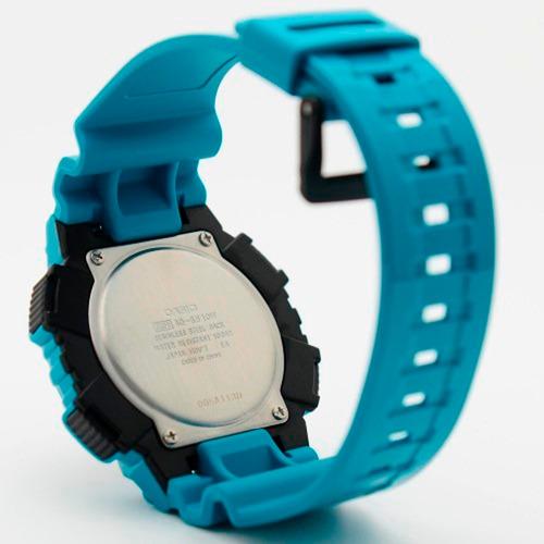 reloj casio aq-s810wc-3a azul aguamarina